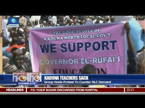 Kaduna Teachers Sack: Group Holds Protest To Counter NLC Demand