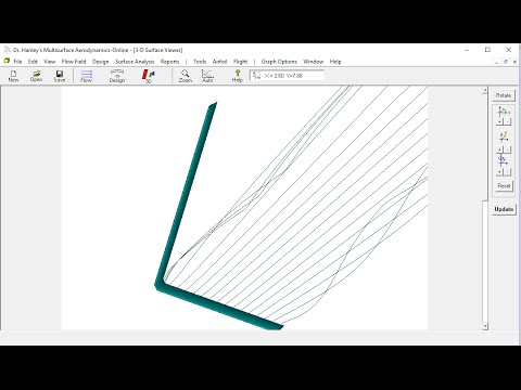 L Hydrofoil Design And Analysis Tutorial Youtube