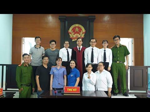 Phiên tòa giả định - Chi đoàn Tòa án nhân dân thành phố Thuận An