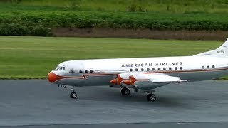 GIANT SCALE RC Plane American Airlines Lockheed electra 2 L 188 NAMFI 2011 SMMAC