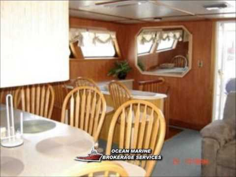 100ft Liveaboard Crew Boat Yacht Conversion. File #608cr