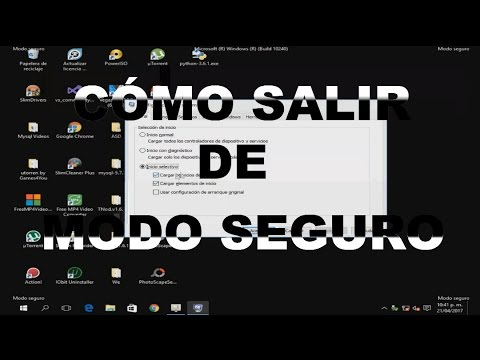 Cómo Salir del Modo Seguro En Windows 7/ 8/ 8.1/ 10 (Cualquier Versión) 2018 || Mdf Retorico