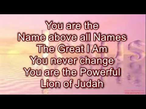 Name Above All Names by Martha Munizzi