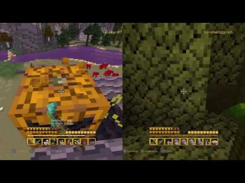 Minecraft Halloween adventures W/ Chelsea