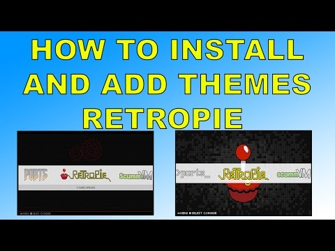 How To Change The Look Of Retropie ,  Install Themes Raspberry pi 1 2 3 And Zero