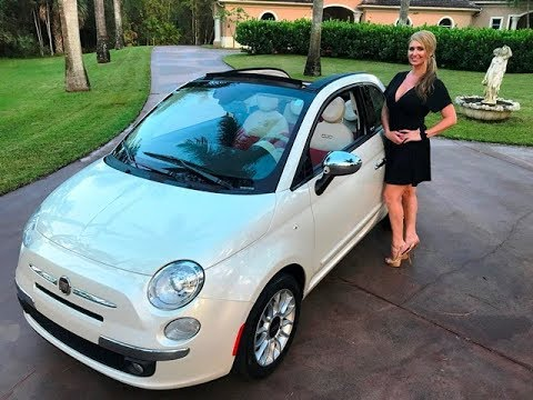 SOLD 2012 Fiat 500 Convertible Lounge, only 26K Miles for sale by Autohaus of Naples 239-263-8500