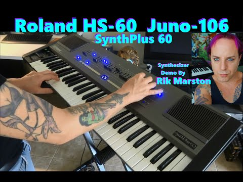 ROLAND HS-60 JUNO-106 ANALOG SYNTHESIZER SYNTH