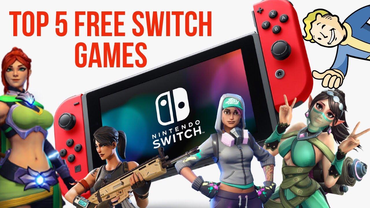 Top 5 Free Nintendo Switch Games Gamerzworld Best Free