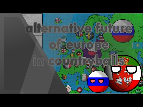 Alternative Future of Europe in Countryballs | Slavic union!