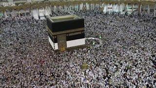 世界中の何百万人ものムスリムが、「ハッジ」のためにサウジアラビアの...