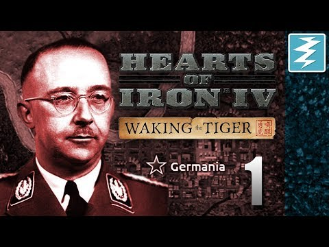 HOW TO FORM THE GREATER GERMAN REICH [1] Hearts of Iron IV - Waking The Tiger DLC