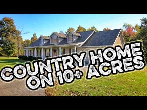 Country Estate home on 10 wooded acres for sale in Stanford Kentucky