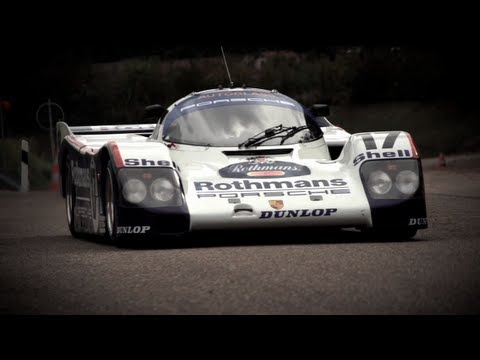 Flat Out In a Le Mans Winning Porsche 962 - /CHRIS HARRIS ON CARS