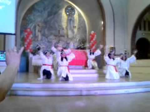 El shaddai Paris interpretative dance