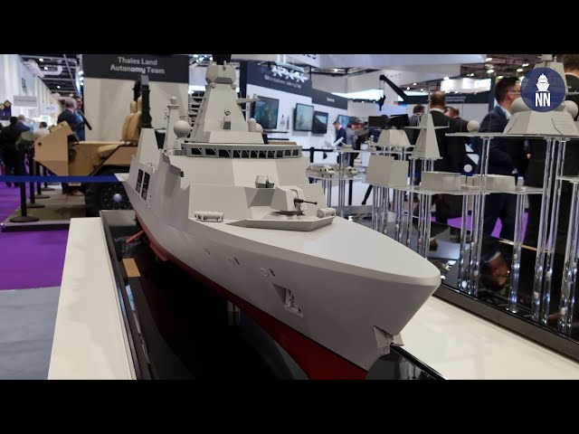 Babcock's Arrowhead 140 Frigate at DSEI 2021