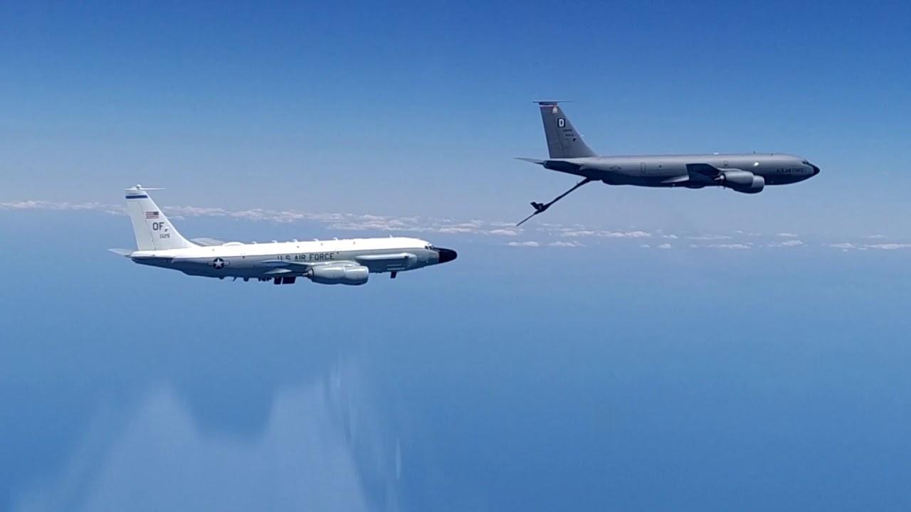 Перехват самолетов-разведчиков ВВС США над Черным морем
