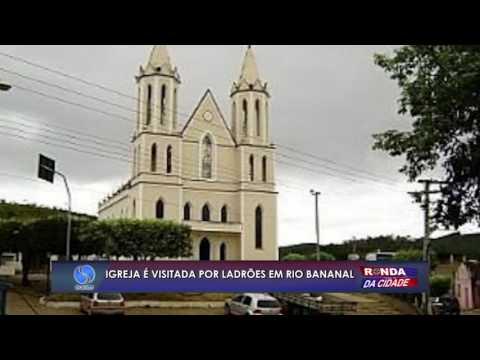 Igreja é furtada em Rio Bananal