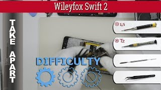 How to disassemble 📱 Wileyfox Swift 2 Take apart Tutorial