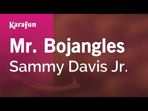 Karaoke Mr. Bojangles - Sammy Davis Jr. *