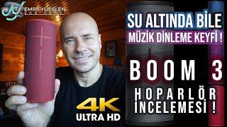 Su Altında Bile Müzik Dinleme Keyfi ! BOOM 3 Hoparlör  İncelemesi ! 4K