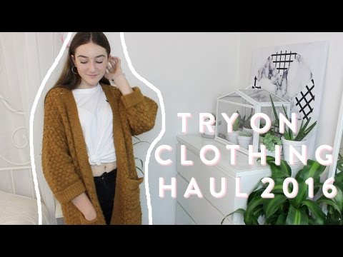 TRY ON CLOTHING HAUL // 2016