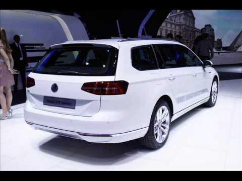All New 2015 Volkswagen Passat Gte Sedan Variant 2014 Paris Motor