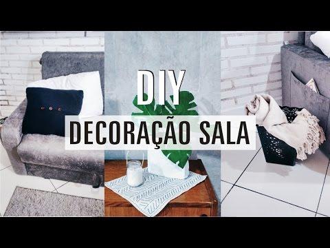 DIY e Dicas Econômicas | Decoração da Sala