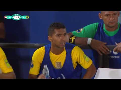 Beach Soccer  Intercontinental Cup 2017  UAE - BRAZIL