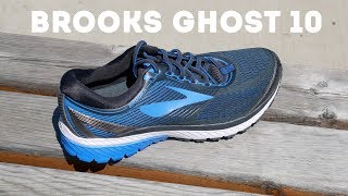 Brooks Ghost 10 Overview