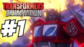 Transformers Devastation Gameplay Walkthrough Part 1 Let
