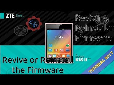 Flashear / Revivir / Actualizar  ZTE KISS 2 MAX (ROM Original)  ¦ 💻GaryPC💻