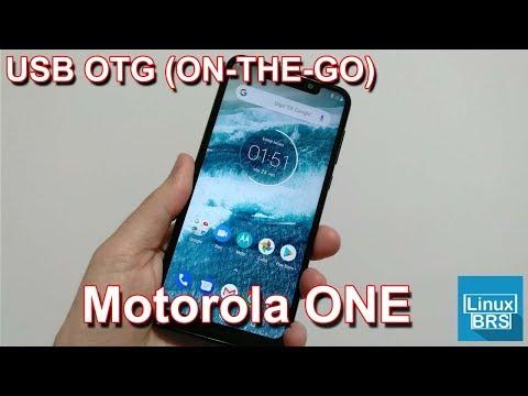 🔘 Motorola One - USB OTG (ON-THE-GO) - Português - PT-BR