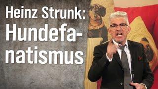 Experte für Hundefanatismus Heinz Strunk