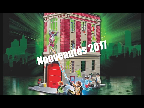 nouveaut s 2017 2018 ghostbusters et dragons playmobil youtube. Black Bedroom Furniture Sets. Home Design Ideas