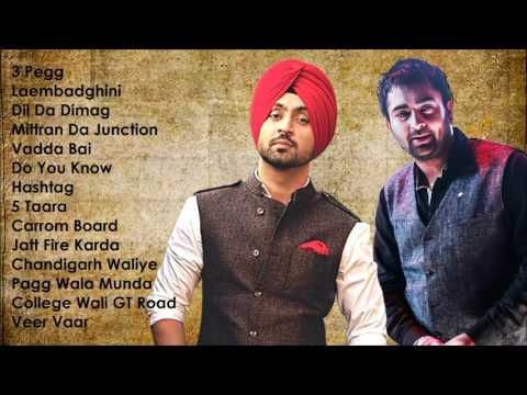 Thumbnail: Best of Diljit Dosanjh & Sharry Maan | Audio Jukebox | Latest Punjabi Songs Collection
