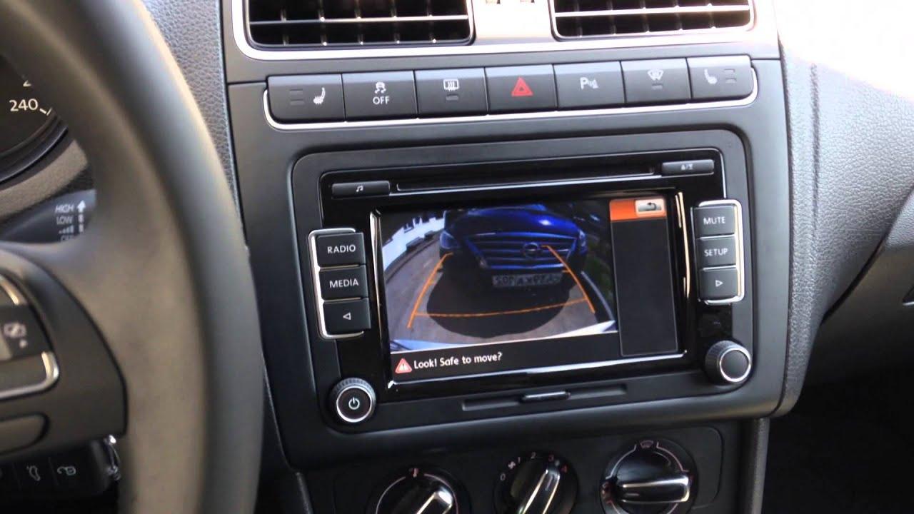 Камера заднего вида на Polo Sedan  YouTube