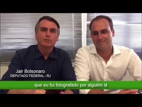 """BOLSONARO NO WHATSAPP: MAIS UMA """"POLÊMICA"""" INVENTADA."""