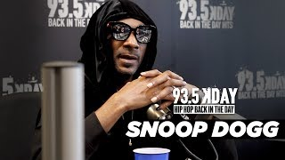 Snoop Dogg Explains What 'Make America Crip Again' Means, Who Inspired Snoop Dogg, And More!