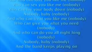Nobody Keith Sweat Ft  Athena Cage Lyrics