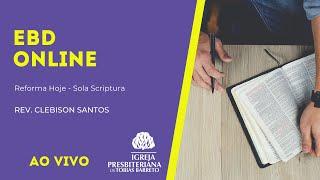 EBD Online   03/10/2021   Rev. Clebison Santos