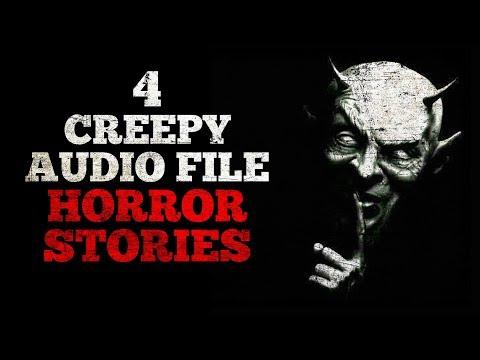 4 Creepy Audio File Horror Stories
