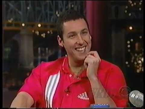 Adam Sandler | Interview | Late Show With David Letterman | 11-04-1998