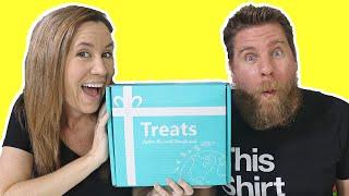Treats Box Unboxing Candy & Snacks From Croatia