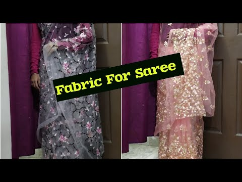 Designer Fabric For Saree,Lahnga and Skirt..Buy Online 😍