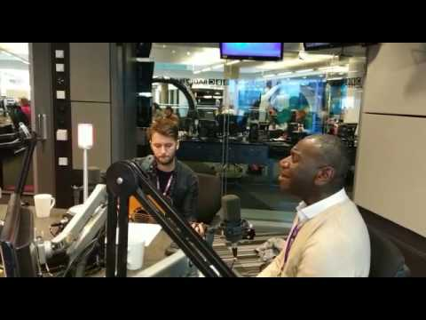 Wayne Ellington sings: 'When I Fall in Love' by Nat King Cole on BBC Radio Manchester