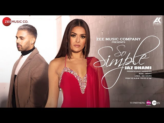 So Simple - Official Music Video | Jaz Dhami | Bambi Bains | Snappy | Rav Hanjra