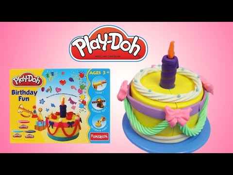 Play Doh Birthday Fun Cake Playset