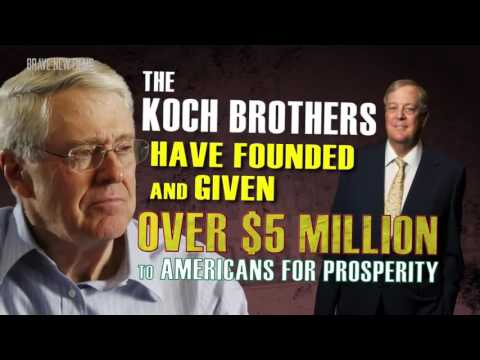 Koch Brothers EXPOSED  DOCUMENTARY • BRAVE NEW FILMS