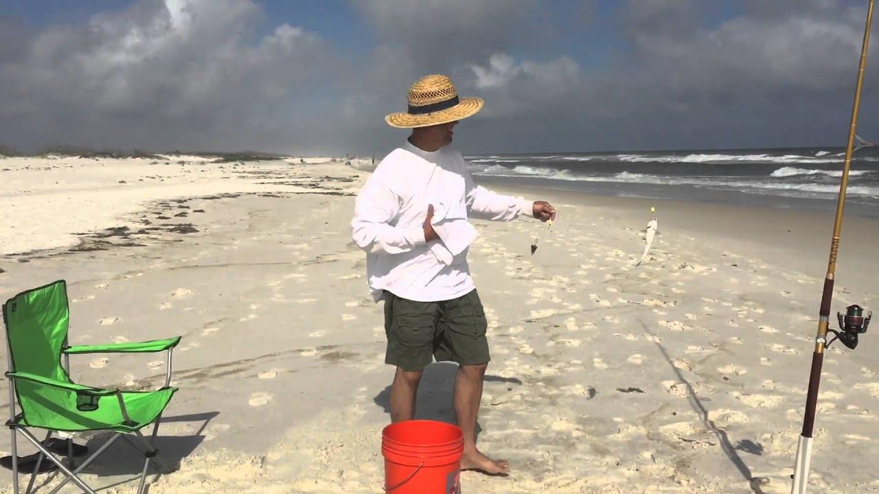 Johnson beach perdido key florida youtube for Perdido key fishing