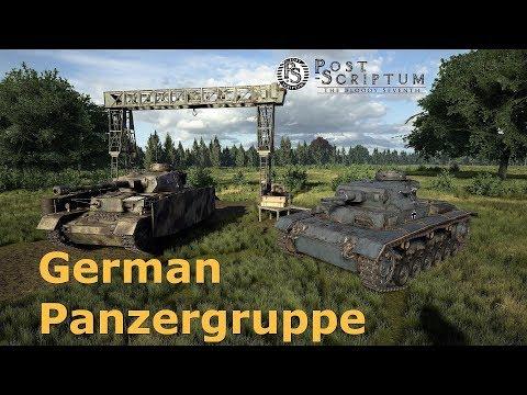 Post Scriptum : German Panzergruppe (german gameplay)